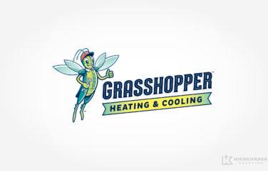 hvac logo for Grasshopper Heating & Cooling