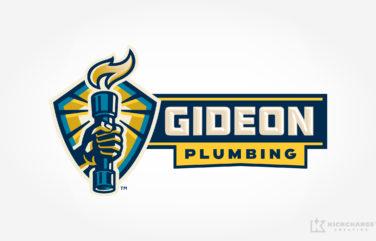 plumbing logo for Gideon Plumbing