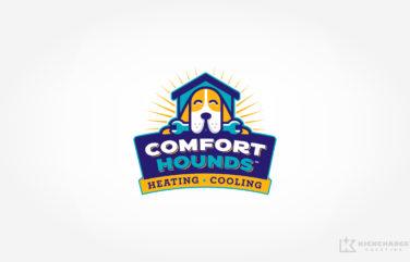 hvac logo for Comfort Hounds
