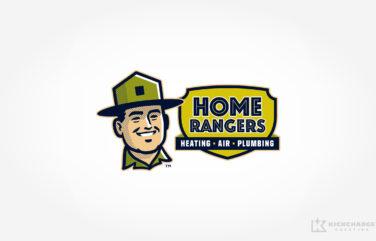 hvac and plumbing logo for Home Rangers