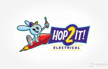 electrical logo for Hop2It! Electrical