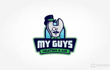 hvac logo for My Guys Heating & Air