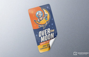 equipment sticker for Over the Moon