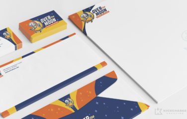 HVAC stationery for Over the Moon